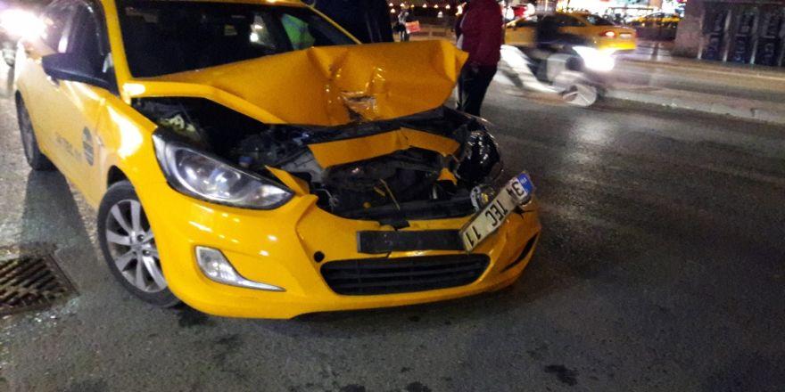 Taksiyle Çıktığı Hastaneye Ambulansla Döndü