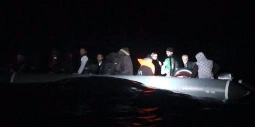 İzmir'de 43 Kaçak Göçmen Yakalandı