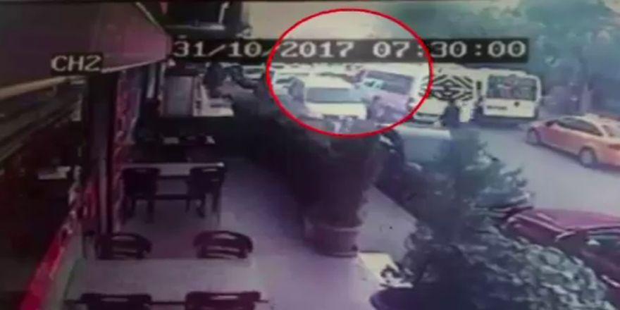 Servis Şoförüne Silahlı Saldırı Anı Kamerada