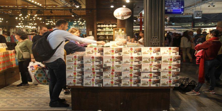 Atatürk Havalimanında 510 Ton Lokum Satıldı