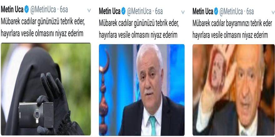 Metin Uca'dan Skandal Paylaşımlar