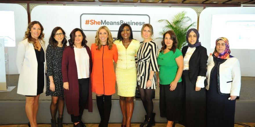 'She Means Business' Projesi İle 5 Bin Kadın Girişimci Eğitim Alacak