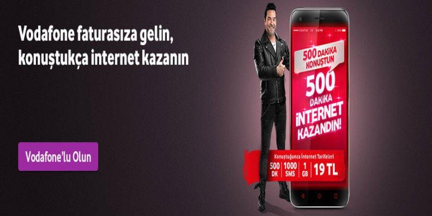 Vodafone'dan Faturasızlar İçin Tarife