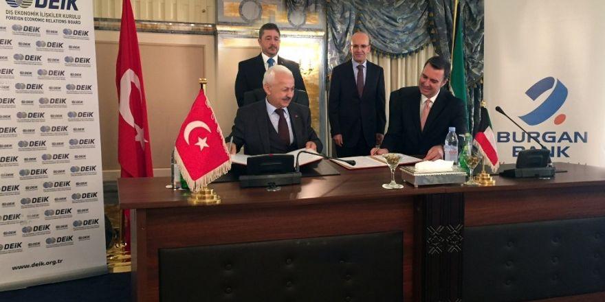 Türkiye İle Kuveyt Arasındaki Ticareti Geliştirmek Amacıyla İşbirliği Protokolü İmzalandı