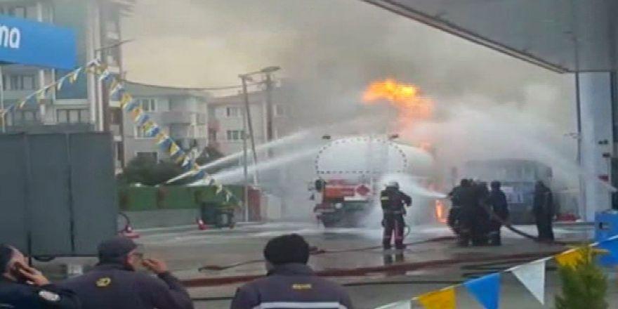 Akaryakıt İstasyonunda Patlama: 3 Yaralı
