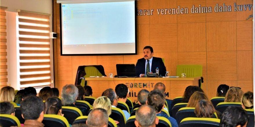 Öğretmenlere 'Tübitak Programları Tanıtım Semineri' verildi