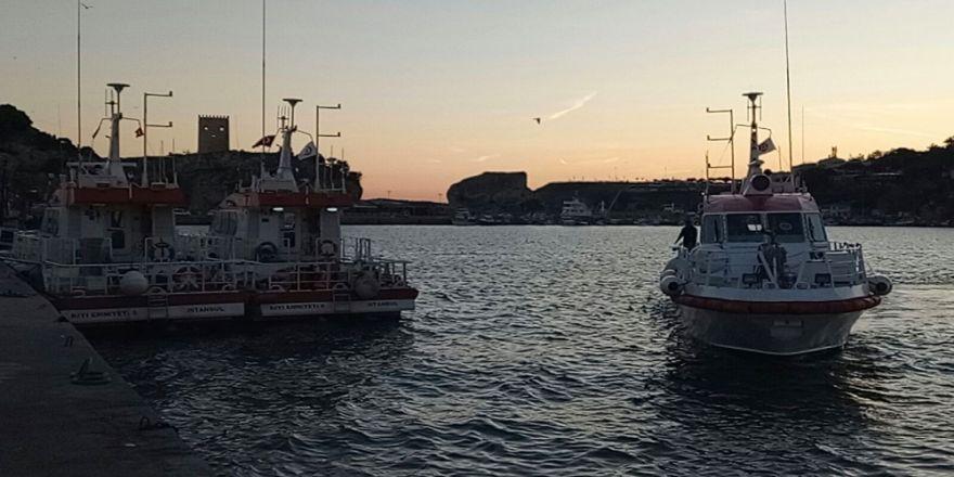 Batan Geminin Mürettebatını Arama Çalışmaları Sürüyor