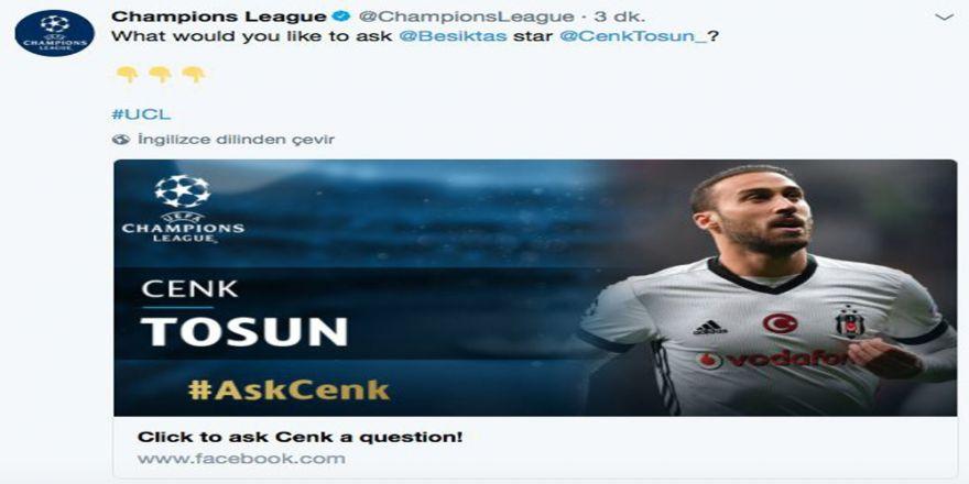 Uefa'dan Cenk Tosun İle Soru Cevap