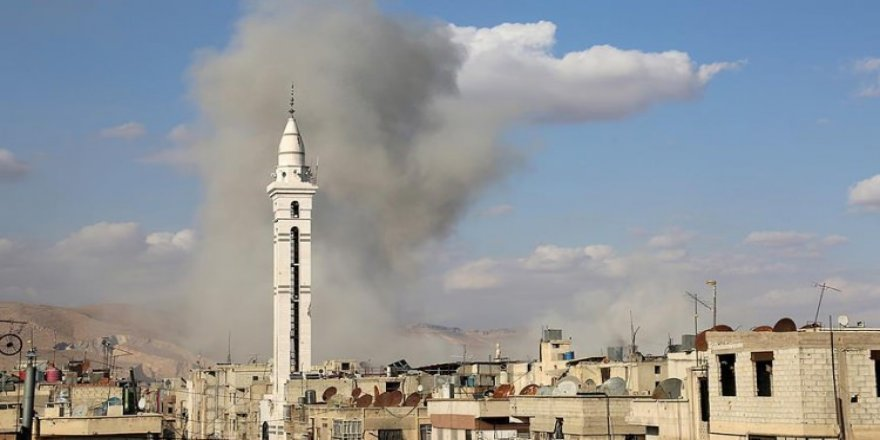 Esed rejiminden Doğu Guta'ya saldırı