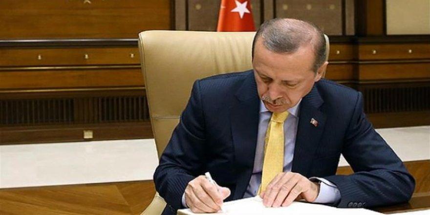 Erdoğan'dan kanun onayı