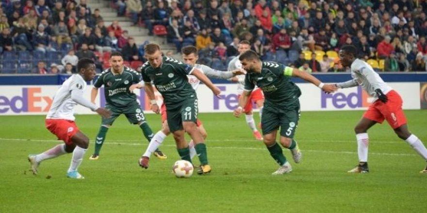 Konyasporlu futbolcu en iyiler arasında!