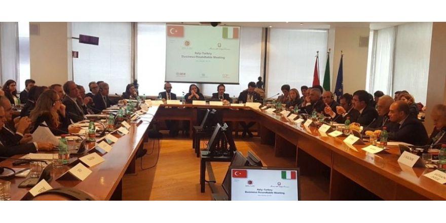 Türk Ve İtalyan İş Çevreleri Roma'da Buluştu