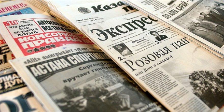 Kazakistan'da ilk Latin alfabesinde gazete basıldı