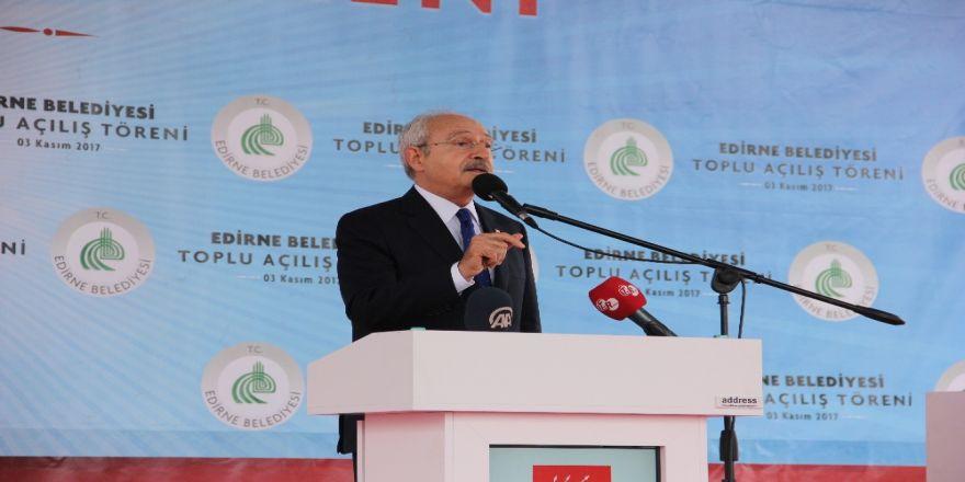 Kılıçdaroğlu, Edirne'de Katı Atık Tesisi Açılışına Katıldı