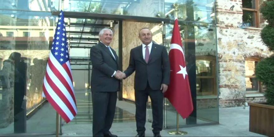Bakan Çavuşoğlu, Abd'li Mevkidaşıyla Görüştü