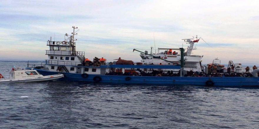 Tam 305 Kaçak Göçmen Yakalandı