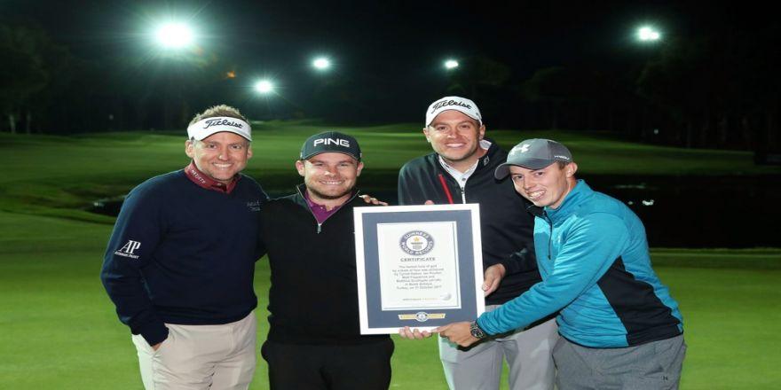 Golfde Guinness Dünya Rekoru Kırıldı