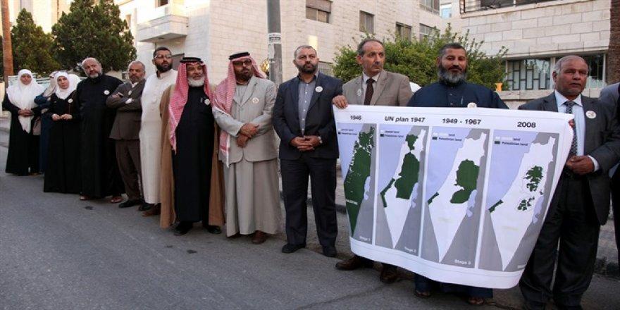 Ürdün'de 'Balfour' protesto edildi