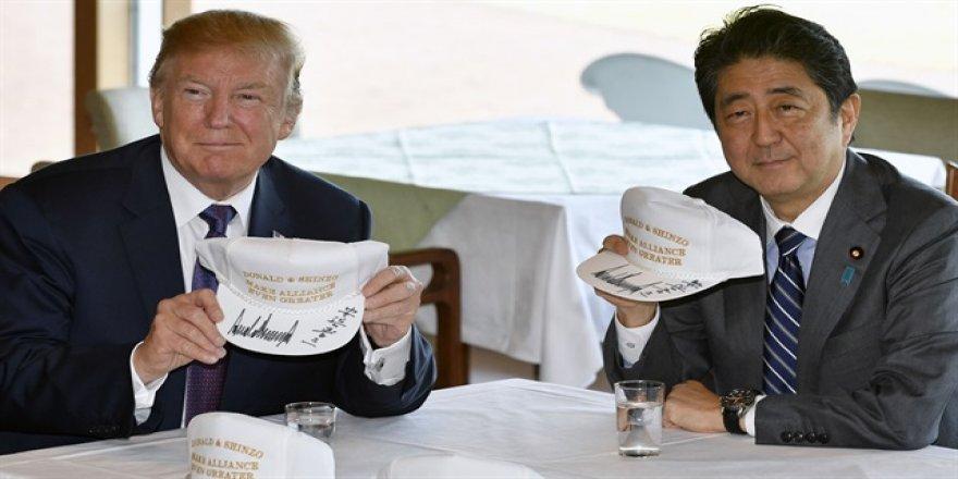 Trump'ın Asya turu başladı