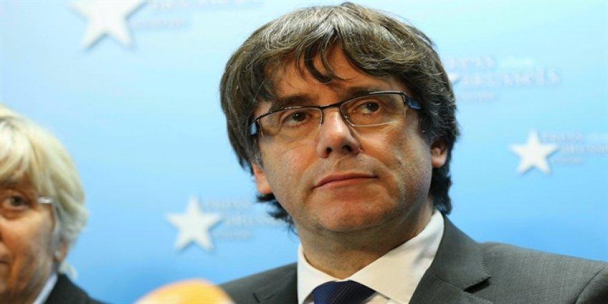 Katalonya lideri teslim oldu