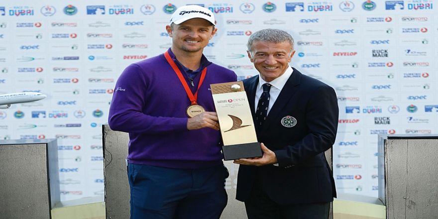 Turkish Airlines Open 2017'nin Şampiyonu Justin Rose