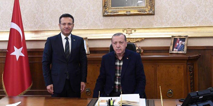 Cumhurbaşkanı Erdoğan'dan valilik ziyareti