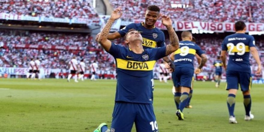 Superclasico'nun galibi Boca Juniors!