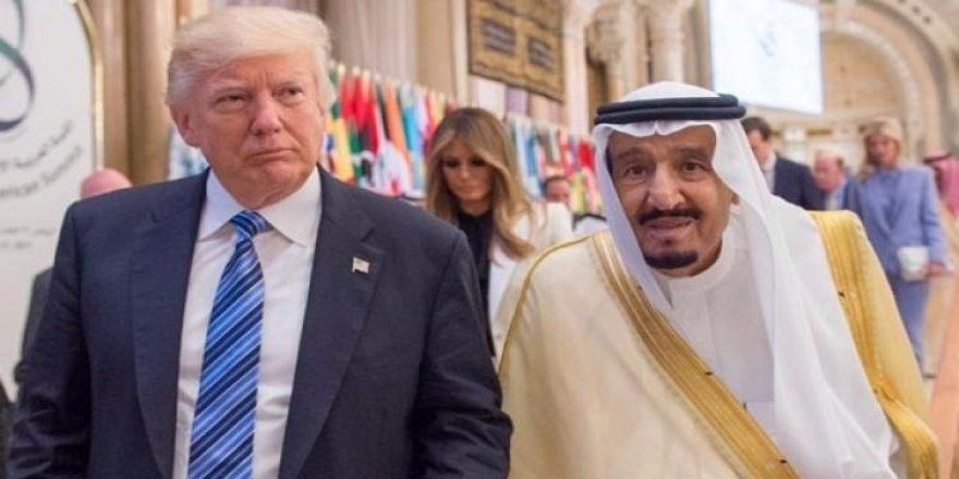 Trump'tan Suudi Arabistan açıklaması!