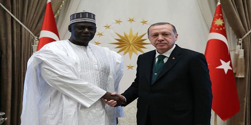 Nijer Ulusal Meclis Başkanıyla Görüştü