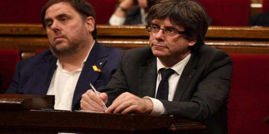 Katalan lider Avrupa'dan yardım istedi