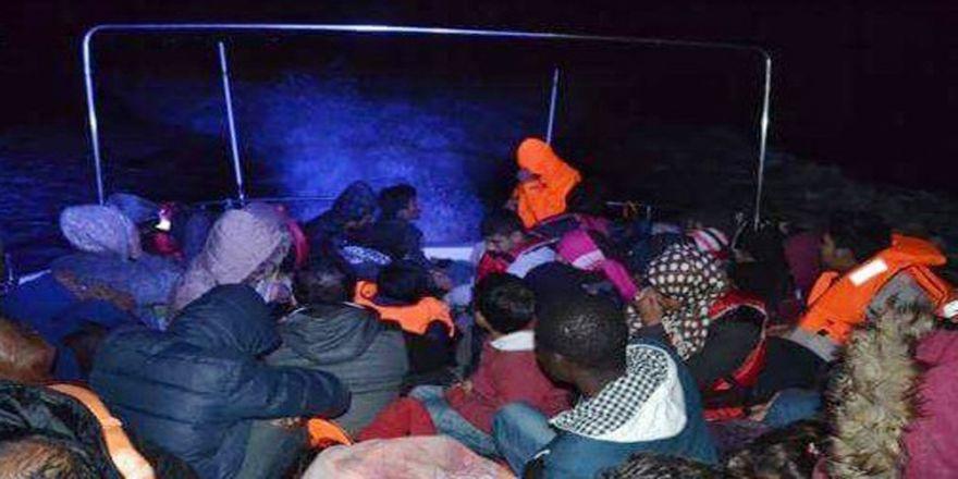 129 Kaçak Göçmen Yakalandı