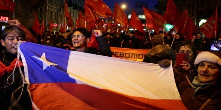 Rusya'da Bolşevik devriminin 100. yılı kutlanıyor
