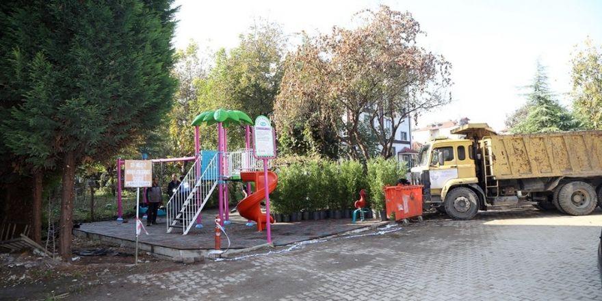 Sapanca'ya Yeni Bir Çocuk Parkı Kazandırılıyor