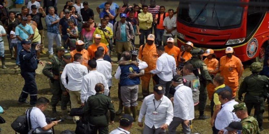 Kolombiya'da nehir taştı: 4 ölü 29 yaralı