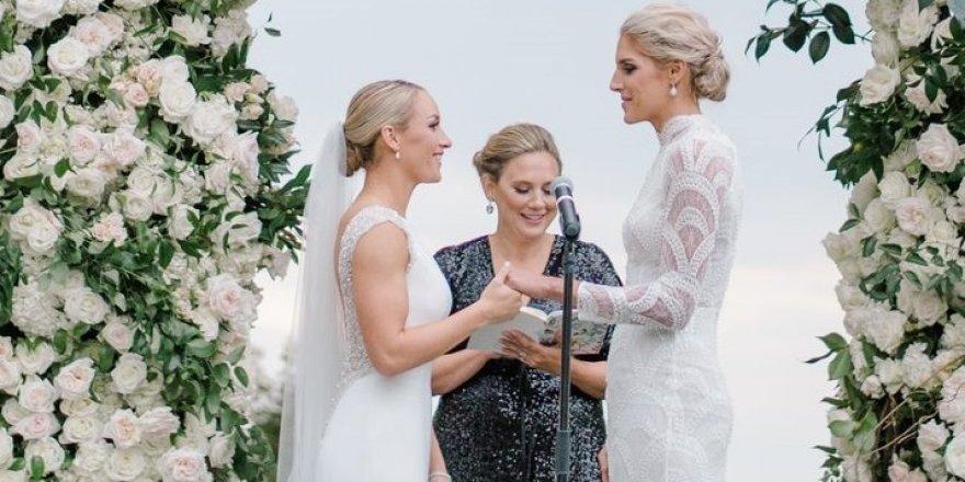 Kadın basketbolcu Elena Delle Donne, Amanda Clifton ile evlendi
