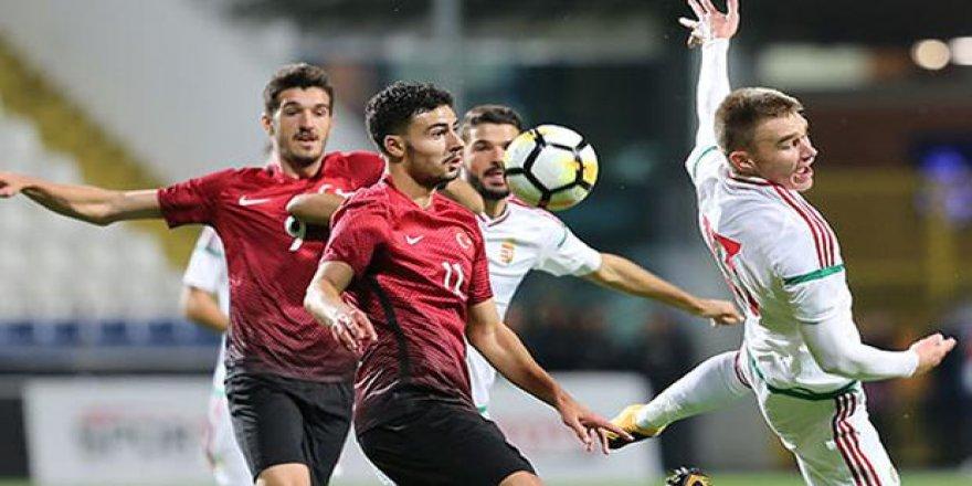 Ümit Milli Takım ilk maçına çıkıyor!