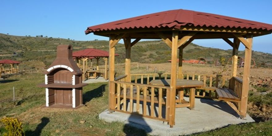 Kartaltepe Tabiat Parkı Piknikçilere Hazırlanıyor