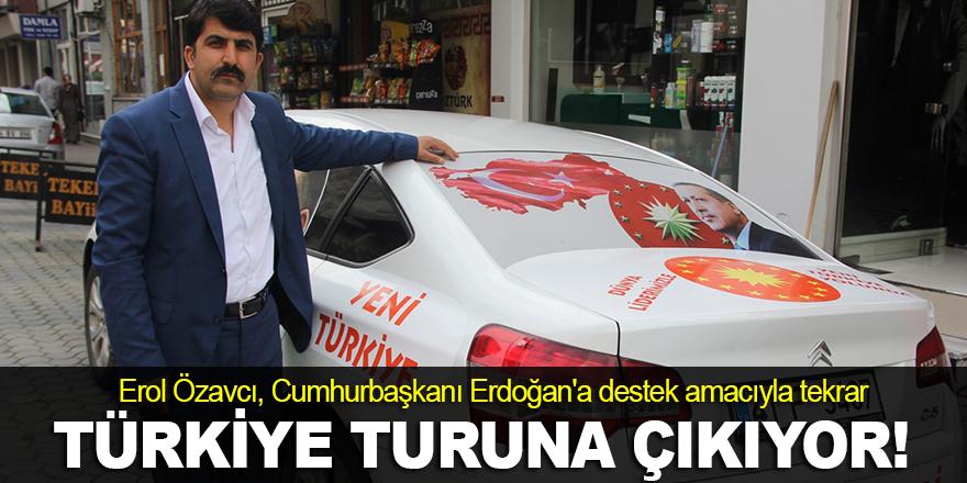 Özavcı, Türkiye turuna çıkacak