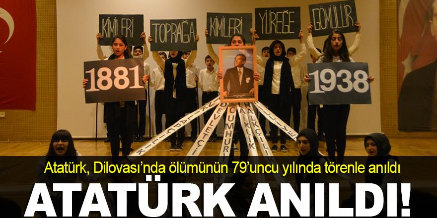 Atatürk Dilovası'nda anıldı