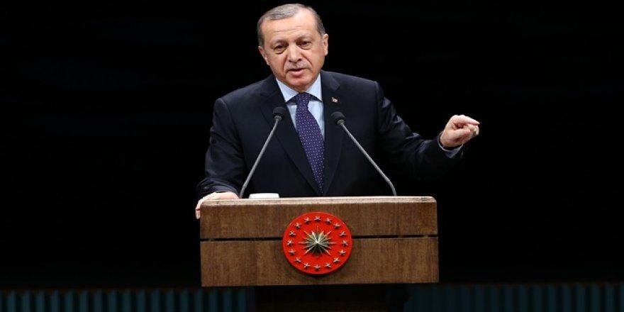 Erdoğan: Atatürk dedik diye senaryo yazıyorlar
