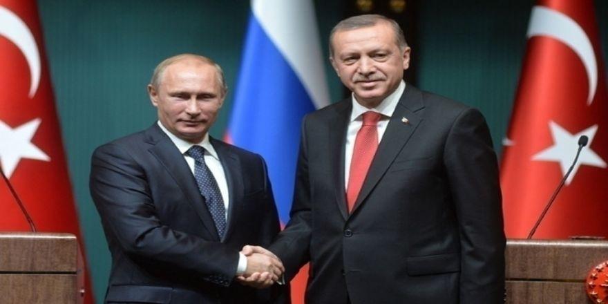 Erdoğan Ve Putin Suriye Ve Bölgesel Konuları Görüşecek