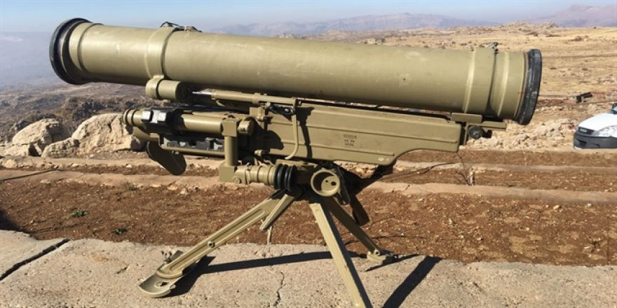 Şırnak'ta tanksavar silahı ele geçirildi