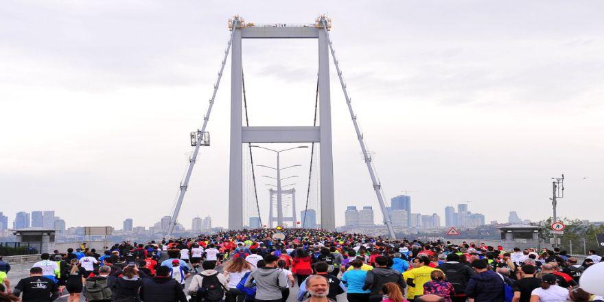39. İstanbul Maratonu Koşuldu