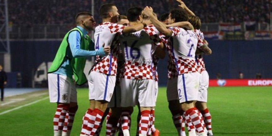 Hırvatistan, Dünya Kupası biletini aldı!