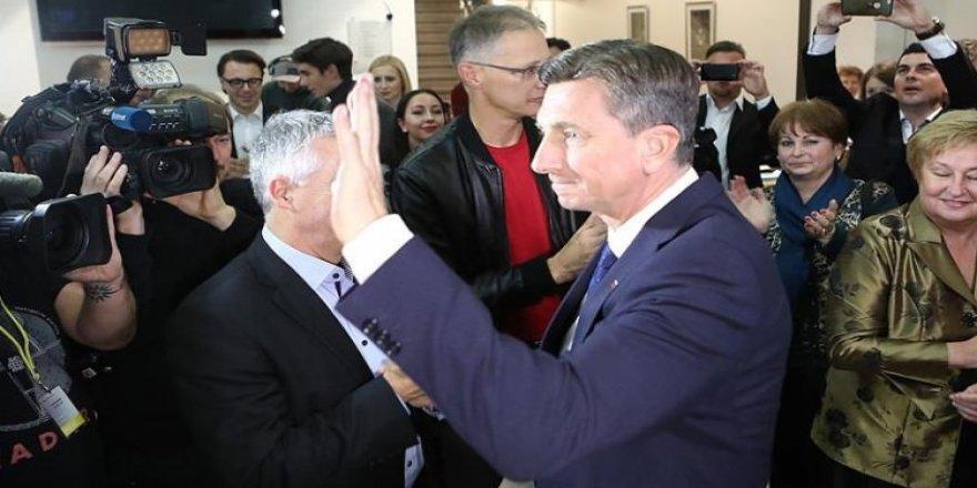 Slovenya'da Cumhurbaşkanı Pahor yeniden seçildi