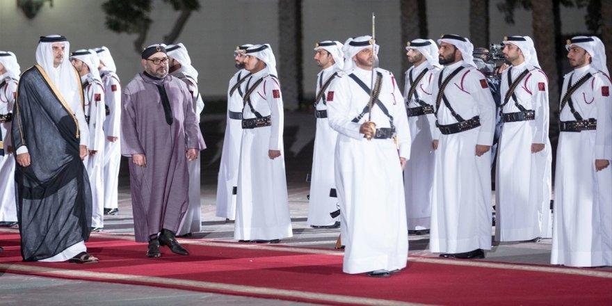 Fas Kralı 6. Muhammed Katar'da