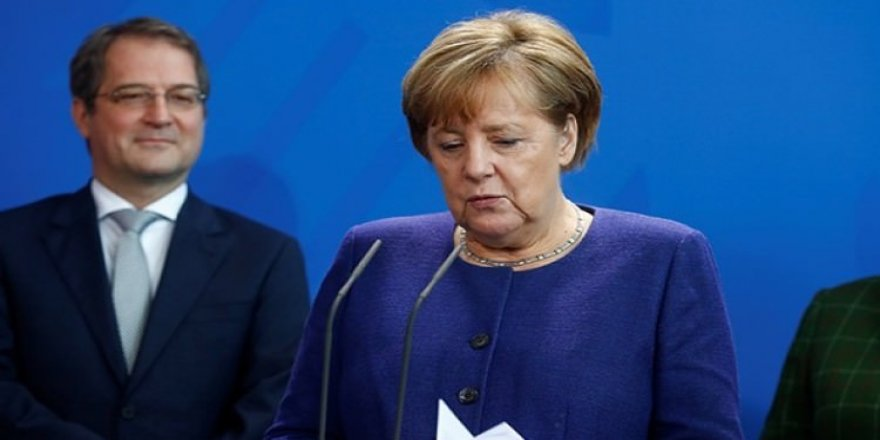 Merkel'e soğuk duş!
