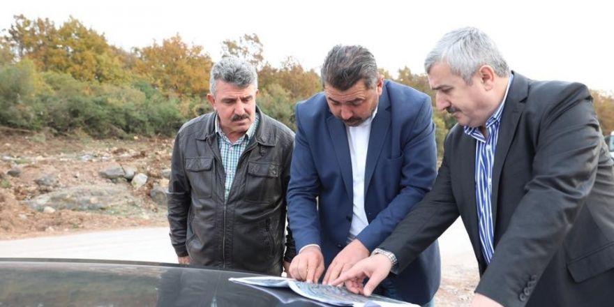 Başkan Baran, İlimtepe'de İncelemeler Yaptı