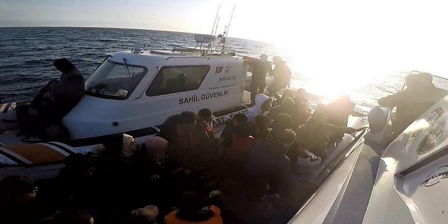 Hafta Sonu 99 Kaçak Göçmen Yakalandı