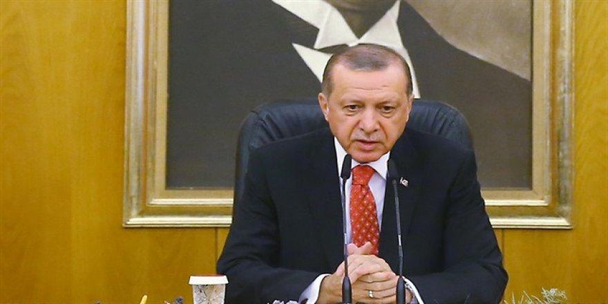 Erdoğan, o açıklamalara tepki gösterdi